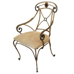 Set of Neoclassical Style Garden Chairs