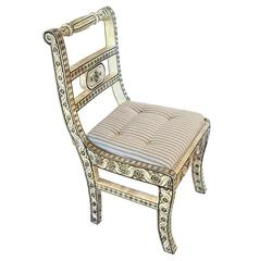 Anglo-Indian Inlay Chair
