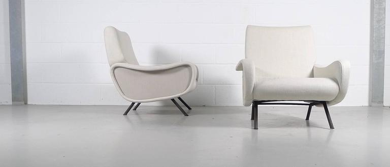 Mid-20th Century Marco Zanuso, Pair of Early Lady Chairs For Sale