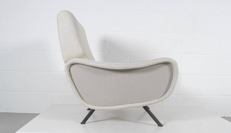 Marco Zanuso, Pair of Early Lady Chairs For Sale 2