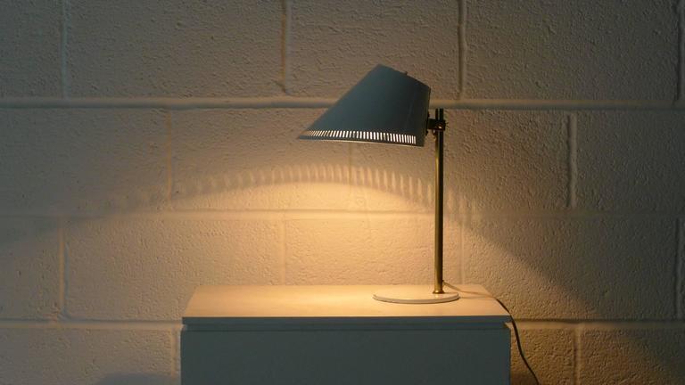 Paavo Tynell Lamp, Stamped Idman 7