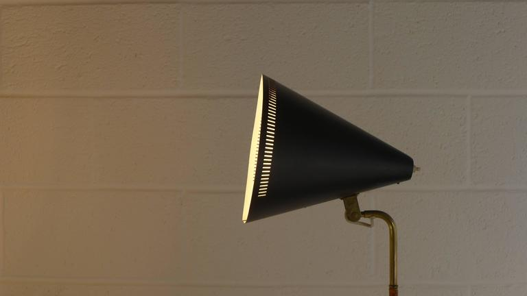 Paavo Tynell Floor Lamp 1950s, Stamped For Sale 3