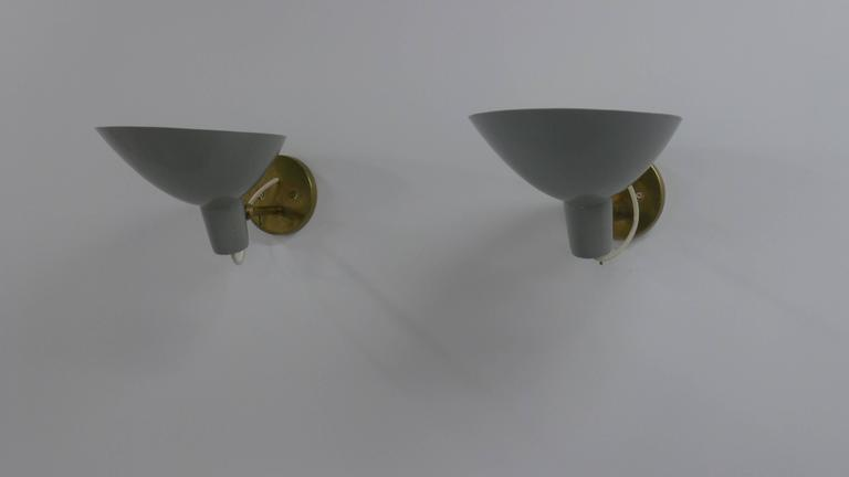 Vittoriano Vigano Visor Sconces for Arteluce 7