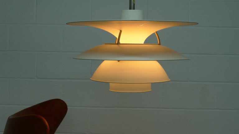 Mid-Century Modern Poul Henningsen Charlottenborg Pendant Lamp , Largest Size