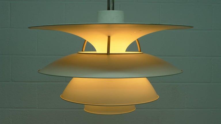 Late 20th Century Poul Henningsen Charlottenborg Pendant Lamp , Largest Size