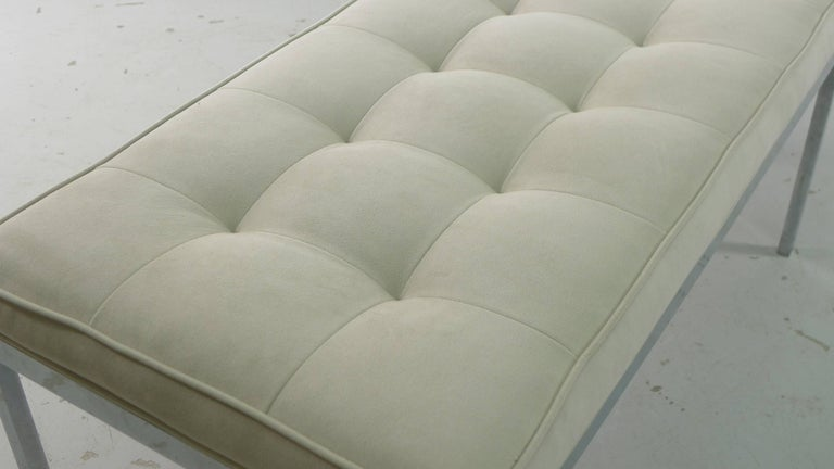 Mid-20th Century Florence Knoll for Knoll International, Upholstered Bench, 1960s For Sale