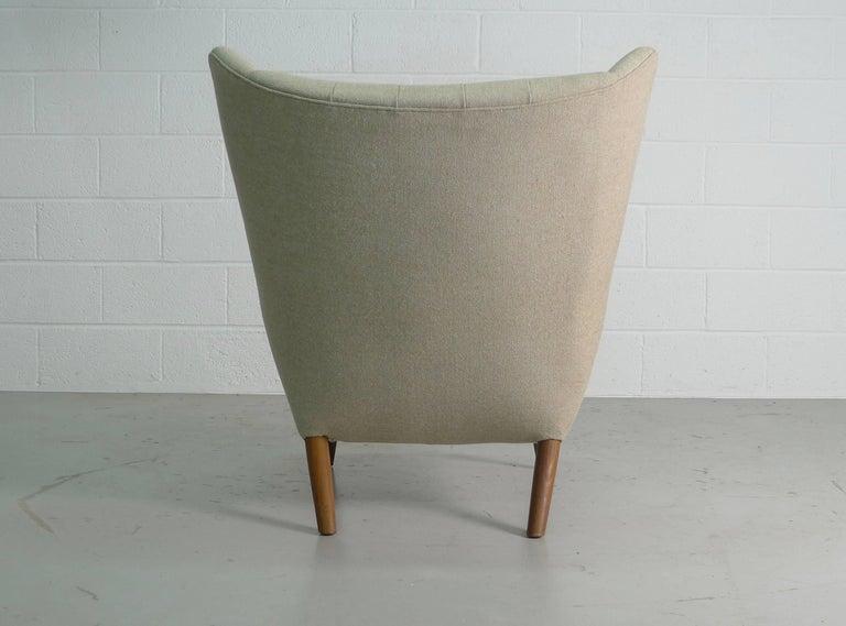 Mid-Century Modern Hans Wegner Papa Bear Chair, 1951, Stamped by Maker AP Stolen, Denmark For Sale