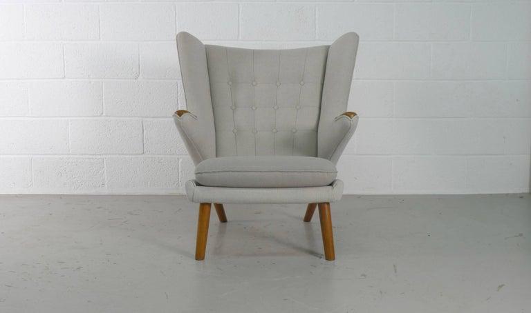 Hans Wegner Papa Bear Chair for AP Stolen, Denmark, 1950s In Good Condition For Sale In Wargrave, Berkshire