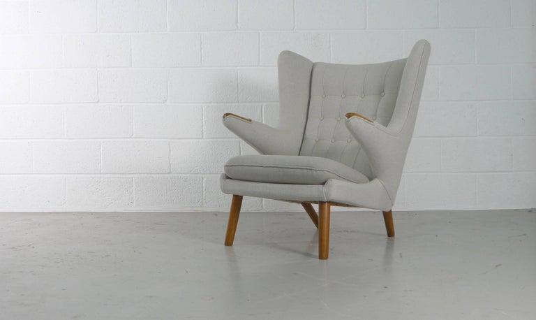Mid-Century Modern Hans Wegner Papa Bear Chair for AP Stolen, Denmark, 1950s For Sale