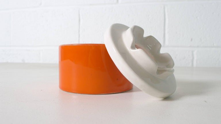 Mid-Century Modern Ettore Sottsass Ceramic for Il Sestante, Italy, 1962 For Sale
