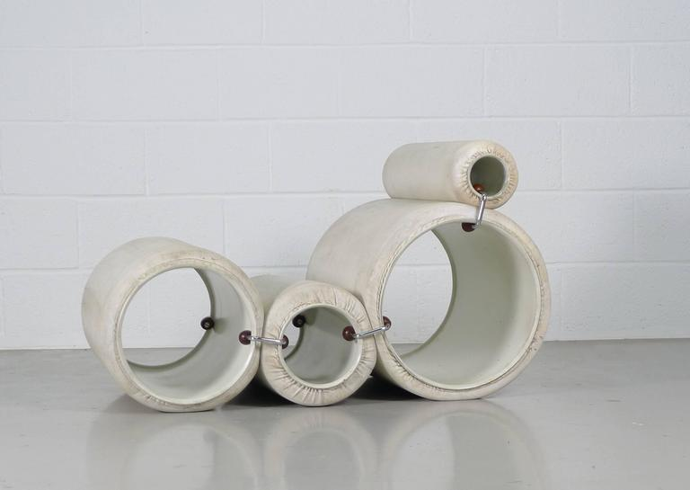Joe Colombo for Flexform, Italy, circa 1969. This is a genuine vintage example of Colombo's Classic