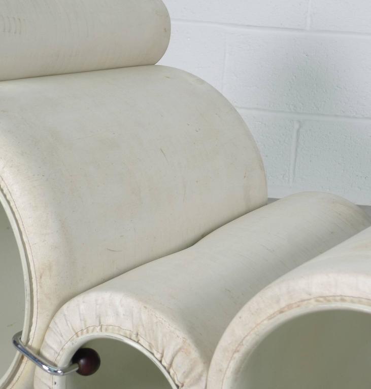 Italian Joe Colombo Tubo Chair For Sale