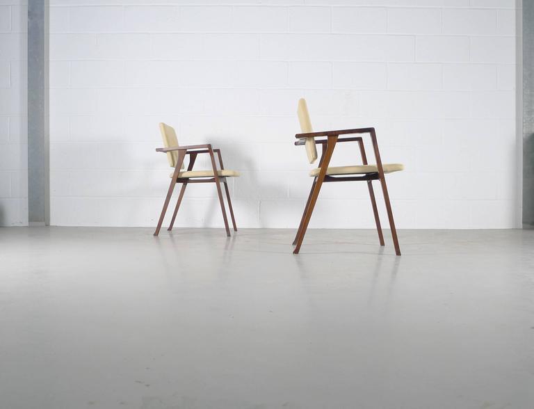 Italian Franco Albini Luisa Chairs For Sale