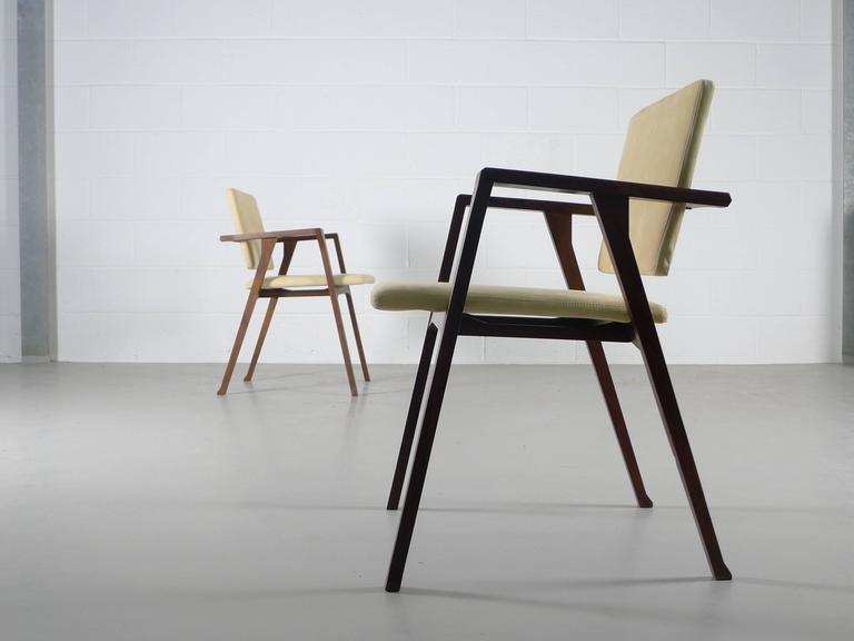 Mid-20th Century Franco Albini Luisa Chairs For Sale