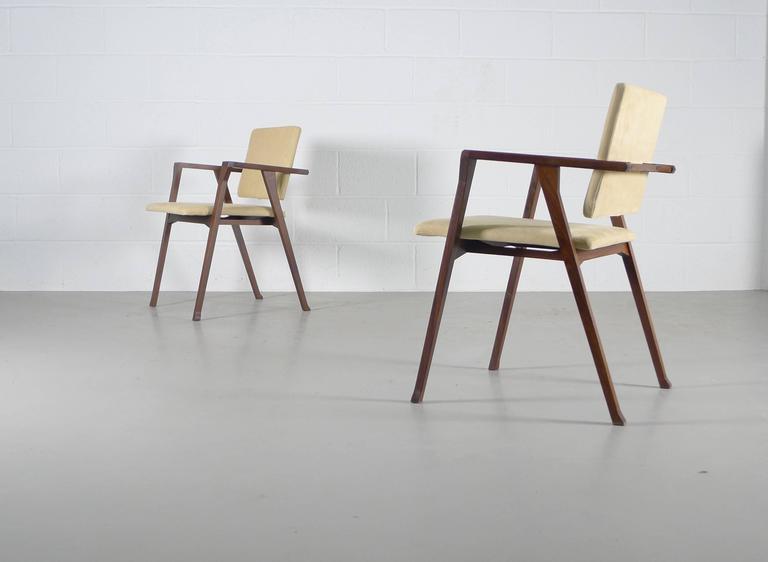 Franco Albini Luisa Chairs For Sale 3