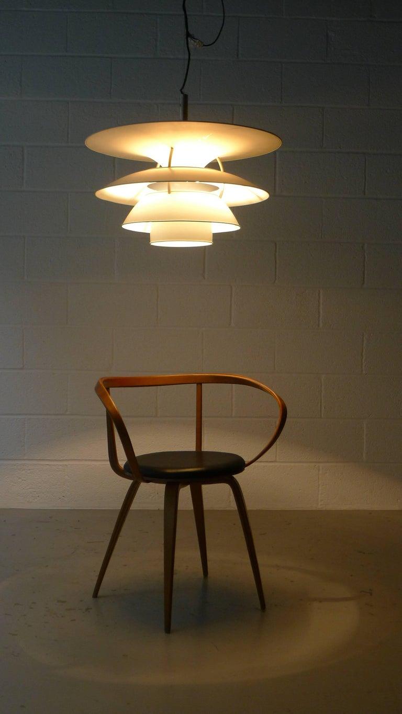 Poul Henningsen Charlottenborg Pendant Lamp , Largest Size In Good Condition In Wargrave, Berkshire