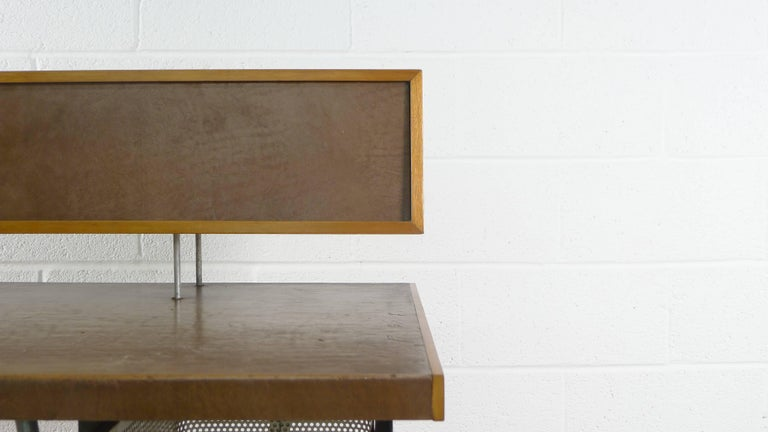 20th Century George Nelson Home Office Desk, Vintage Herman Miller, 1950s For Sale