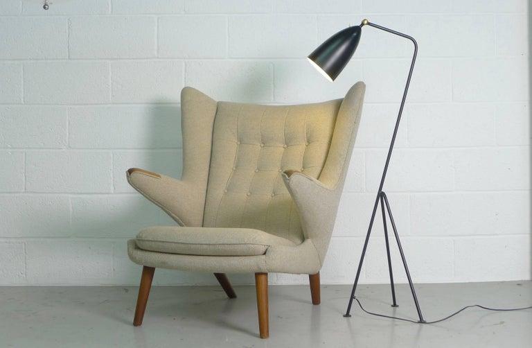 Hans Wegner Papa Bear Chair, 1951, Stamped by Maker AP Stolen, Denmark For Sale 1