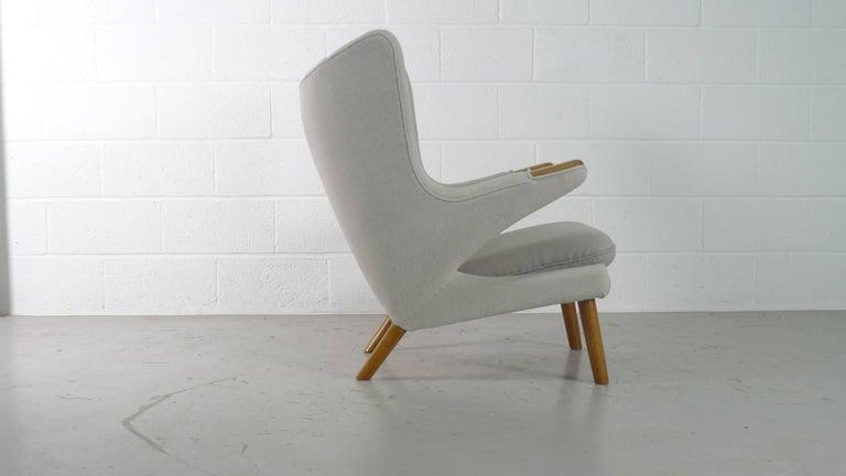 Mid-20th Century Hans Wegner Papa Bear Chair for AP Stolen, Denmark, 1950s For Sale