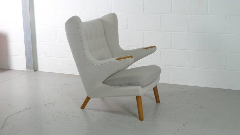 Hans Wegner Papa Bear Chair for AP Stolen, Denmark, 1950s For Sale 1