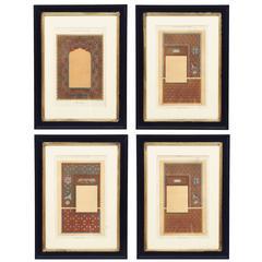 Set of Four Prints by Lemercier et Cie, Paris, 19th Century