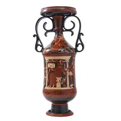 Italian Apulian Style Loutrophoros Vase, 19th Century