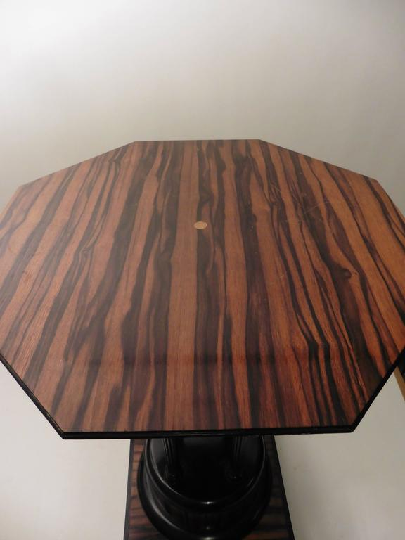 French Art Deco Macassar Occasional Table, circa 1930 For Sale 3