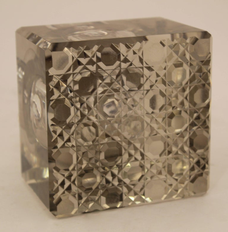 Edwardian Silver Mounted Clock Inkwell, London, circa 1903 For Sale 3