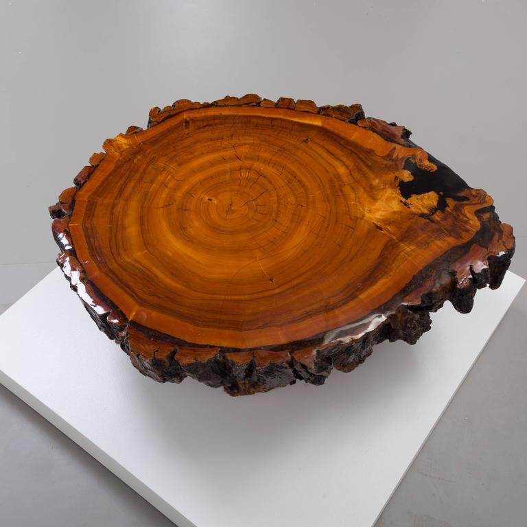Redwood Coffee Table: Californian Redwood Coffee Table, 1960s At 1stdibs