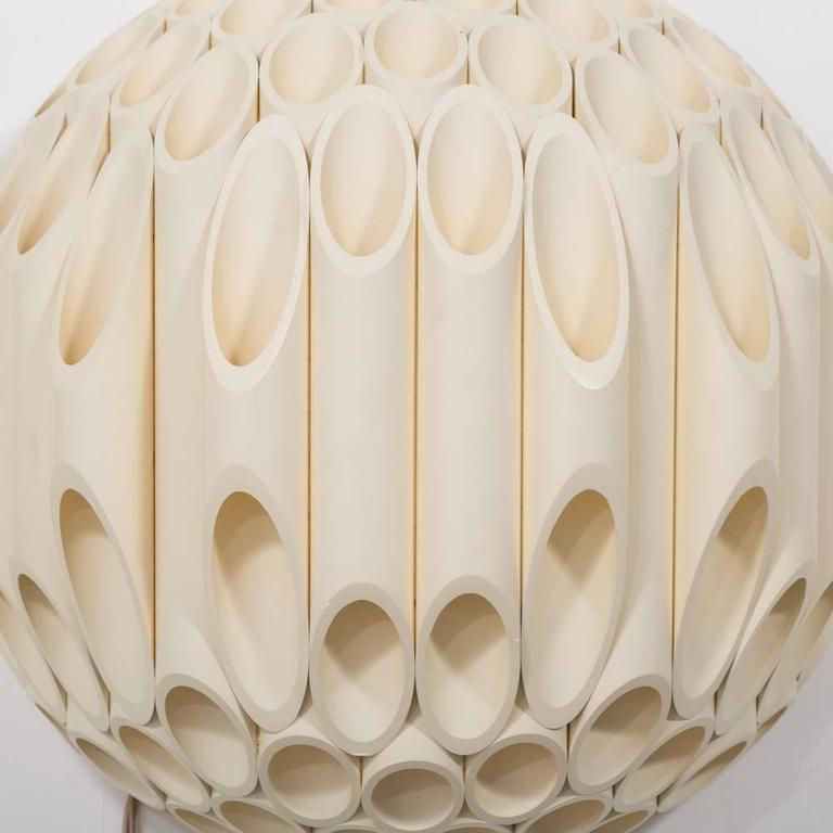 Wall Sconces Victoria Bc: Exceptional Pair Of Spherical Wall Sconce By Rougier
