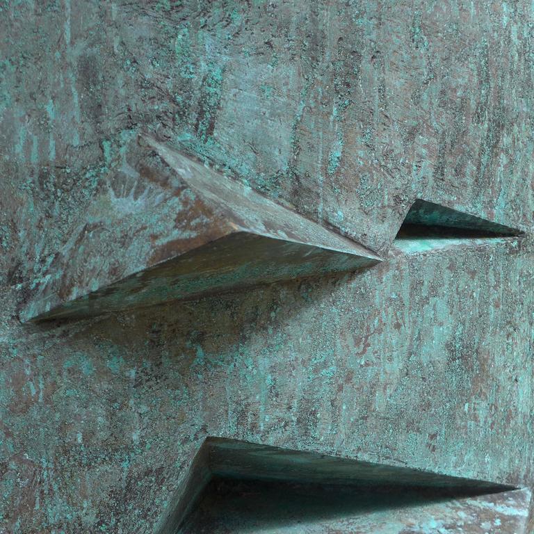 Bronze Sculpture Titled 'Comparison' by Toni Fabris, circa 1972 For Sale 1
