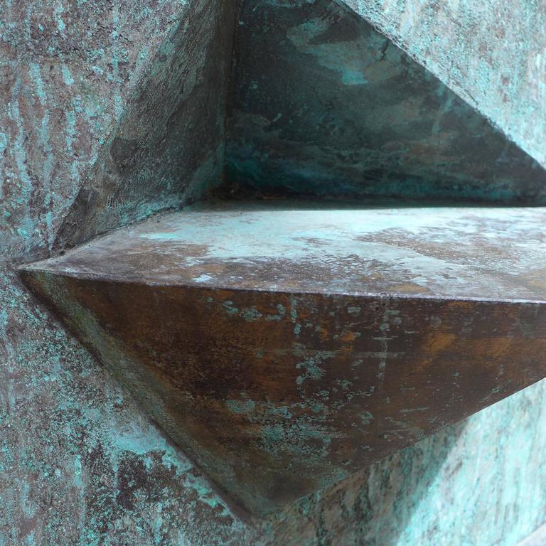 Bronze Sculpture Titled 'Comparison' by Toni Fabris, circa 1972 For Sale 2