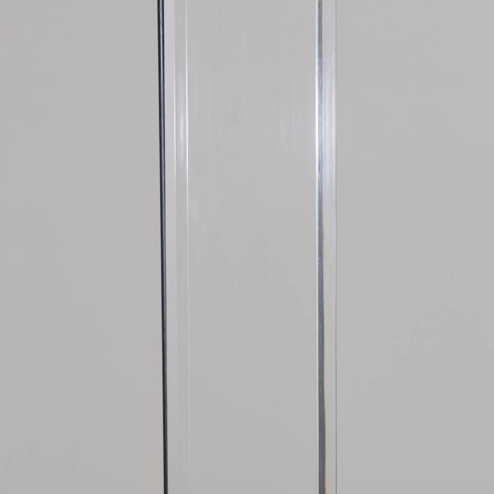 Lucite And Chrome Floor Standing Uplighter 1980s For Sale At 1stdibs
