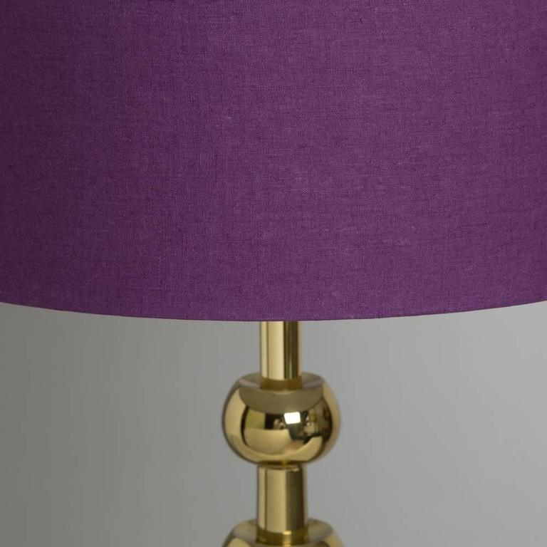 Single Sculptural Stiffel Brass Table Lamp 1970s At 1stdibs