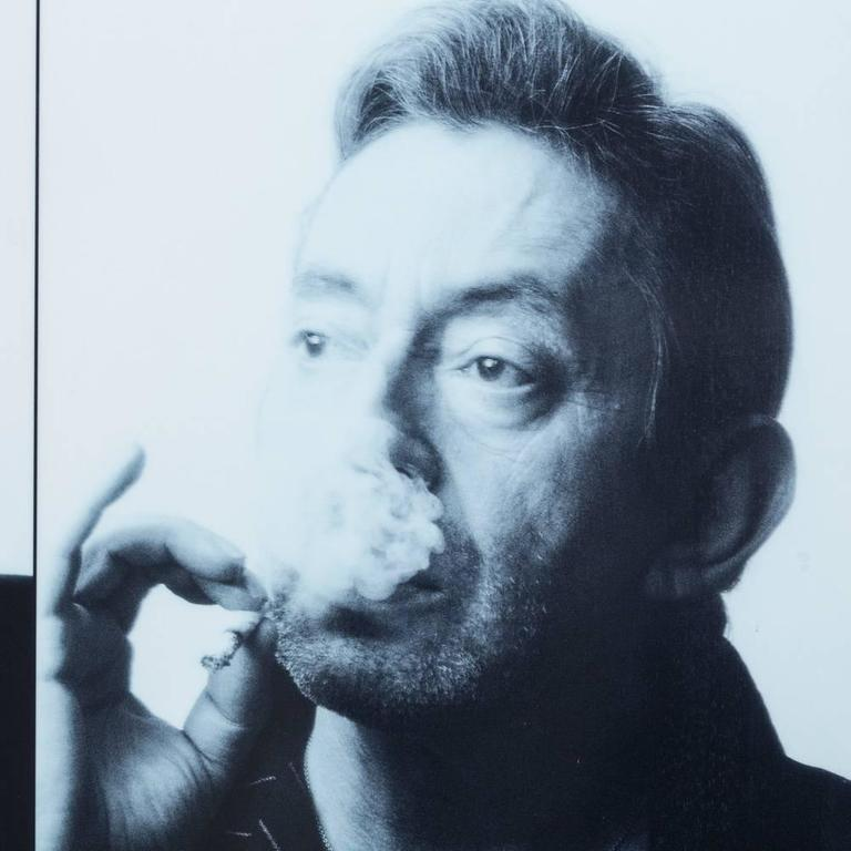 Pierre Terrasson 12 Miniature Portraits of Serge Gainsbourg, 1989 Print 3