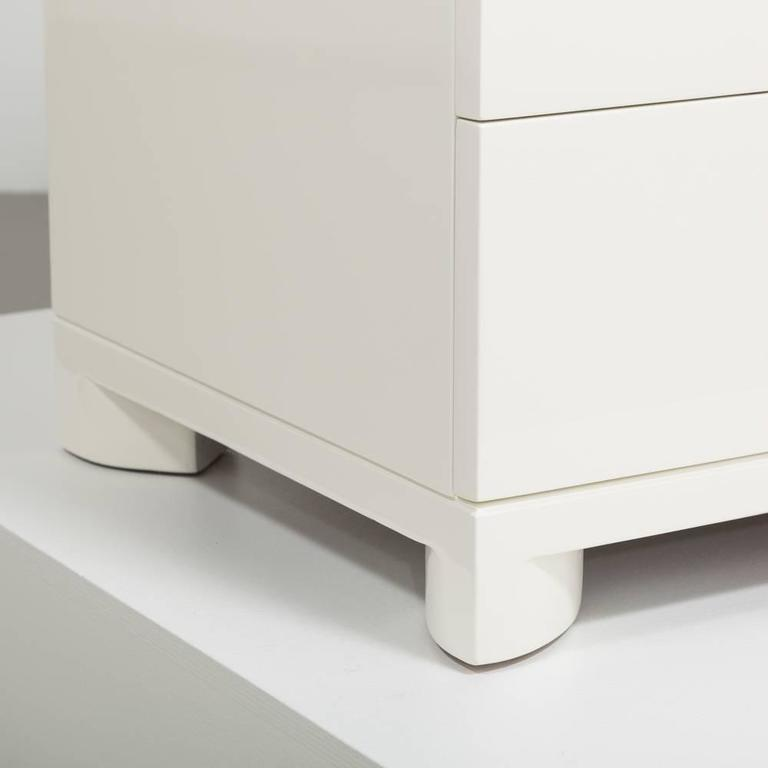 Widdicombe Five-Drawer Ivory Lacquered Commode, 1950s 7