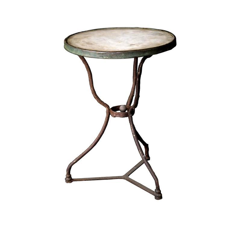 Unique 19th Century Bistro Table For Sale