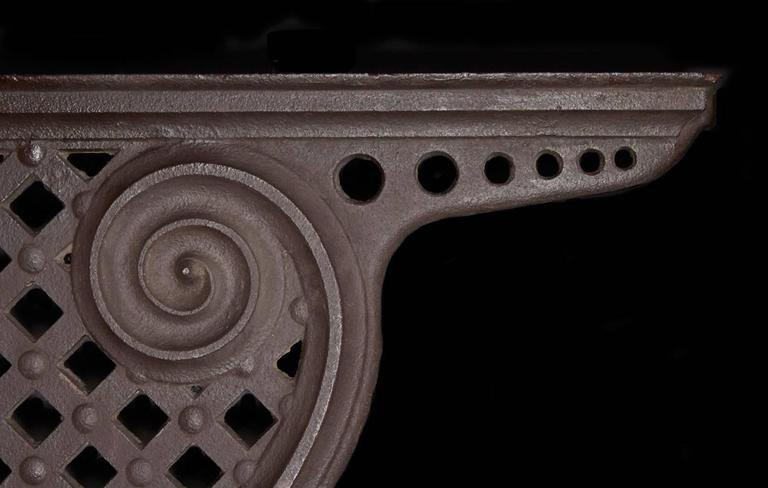 American Pair Cast Iron Brackets For Sale