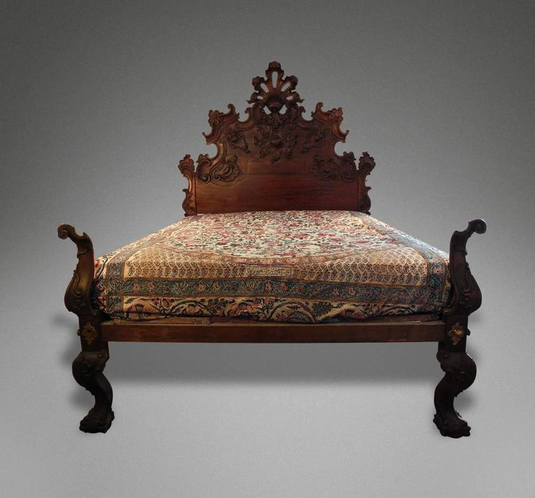 Rare Mid 18th Century Indo Portuguesse Bed For Sale At 1stdibs