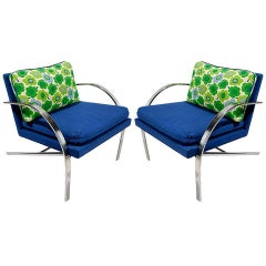 "Pair of ""Arco"" Chairs in the Style of Paul Tuttle"