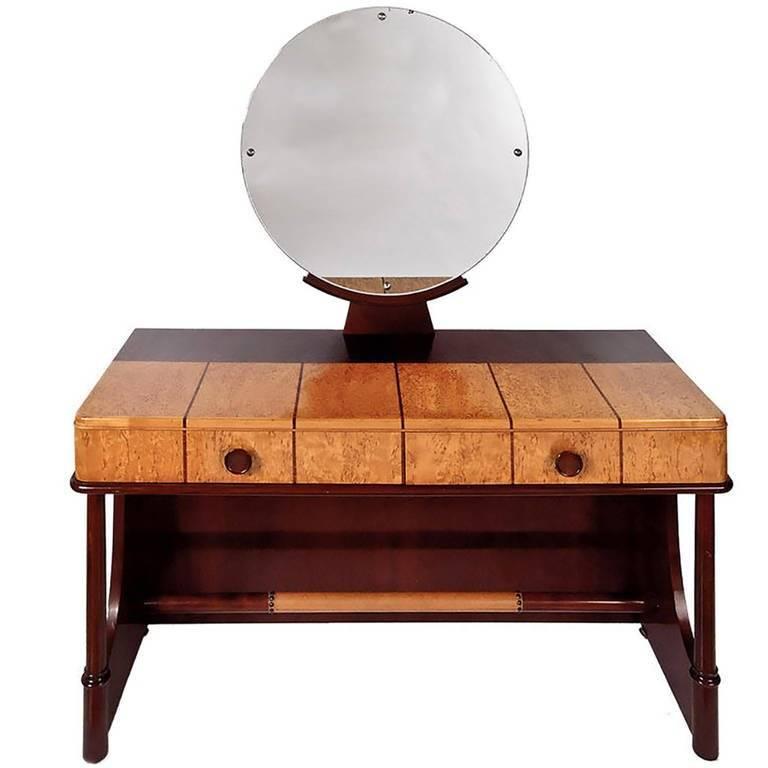 Robert Rasmussen Danish Art Deco Dressing Table For Sale