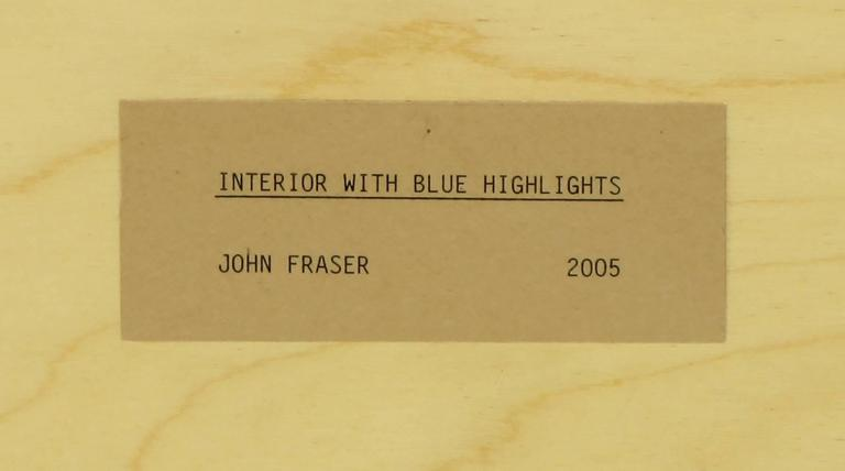 Contemporary Abstract Mixed-Media Work by John Fraser For Sale 3