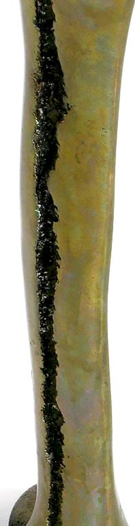 Abstract Bronze Sculpture by C. Kraus For Sale 1