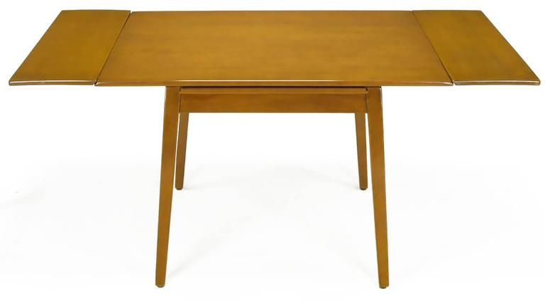 Jan kuypers birch draw leaf dining table by imperial of canada for sale at 1stdibs - Dining room table canada ...