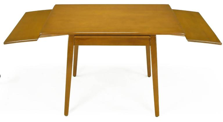 Jan Kuypers Birch Draw-Leaf Dining Table by Imperial of Canada For Sale 1