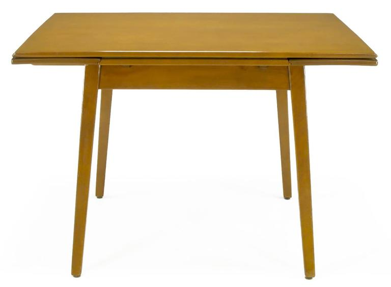 Canadian Jan Kuypers Birch Draw-Leaf Dining Table by Imperial of Canada For Sale