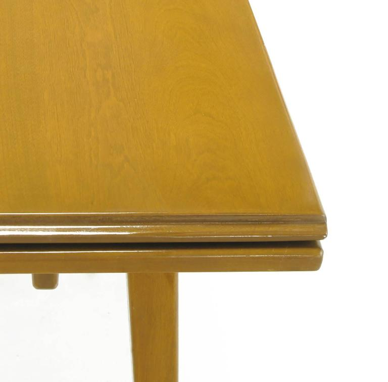 Jan Kuypers Birch Draw-Leaf Dining Table by Imperial of Canada For Sale 3