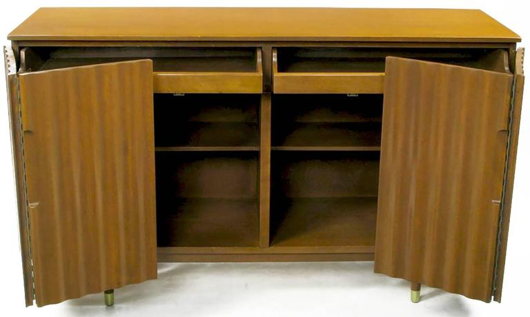 Jan Kuypers Wave Front Birch Sideboard by Imperial of Canada For Sale 1