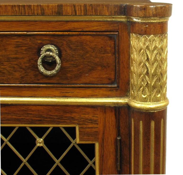 Arthur Brett And Sons Regency Style Rosewood Sideboard At