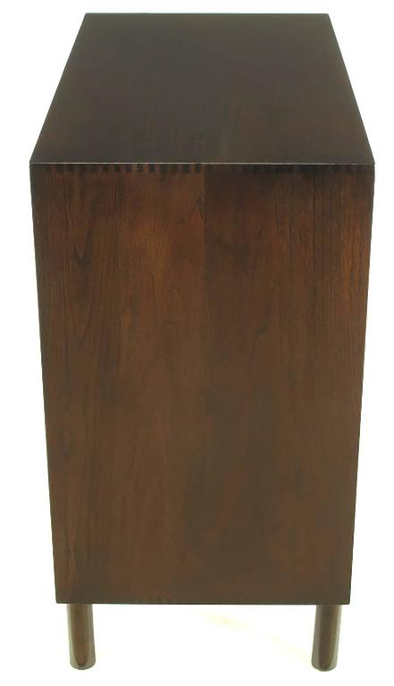 Dark Teak Chest of Drawers by Peter Hvidt & Orla Mølgaard-Nielsen In Excellent Condition For Sale In Chicago, IL